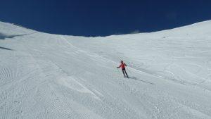 Pisten Skifahren Griechenland